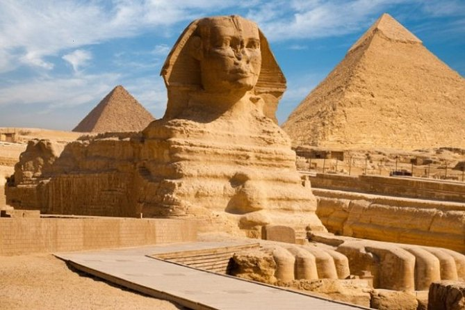 The Giza Pyramids and the The Pheronic village tour