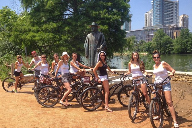 Peace, Love, and Zilker Bike Tour in Austin