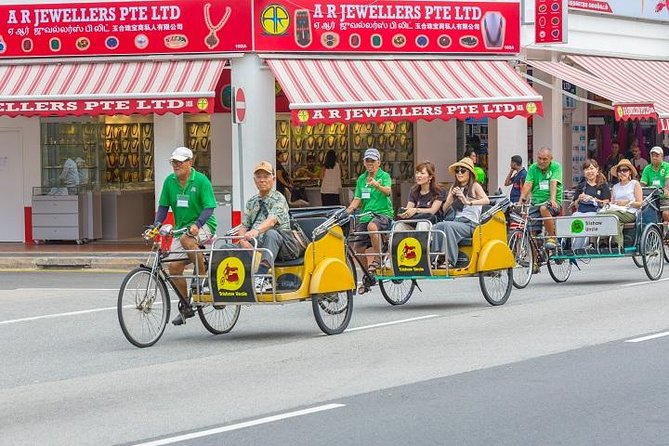 Private Singapore Heritage Tour with Trishaw Ride