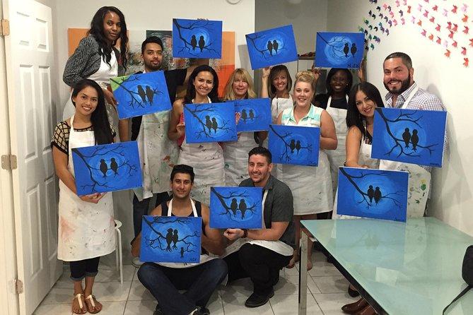 ノースマイアミビーチの絵画授業