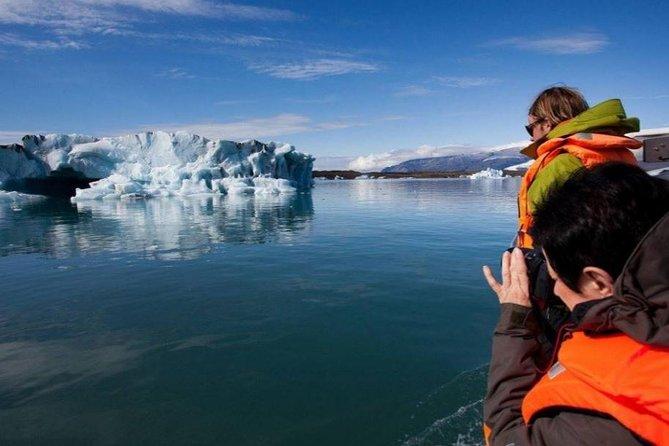 Glacier Walk and Glacier Lagoon Boat Ride in Skaftafell