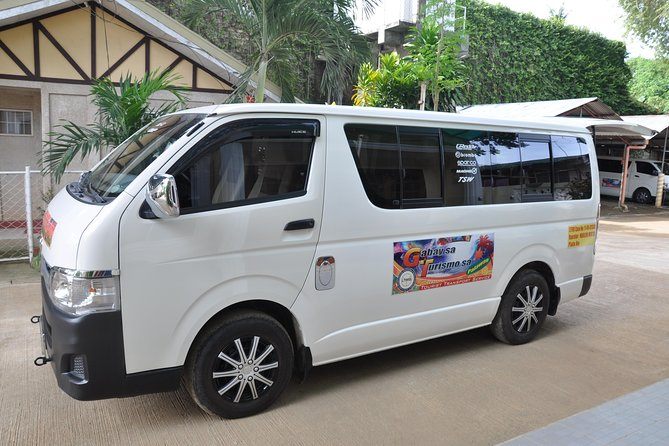 Transport Private van from port barton san vicente to puerto princesa airport