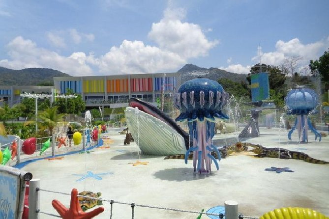 Palawan Waterpark Tour (with private transfers, lunch, fees)