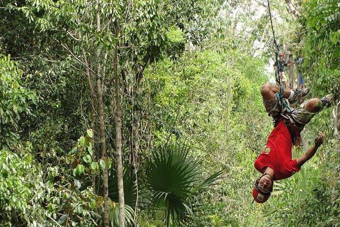 Cozumel Shore Excursion: ATV, Ziplines and Cenote Tour Extreme Adventure Park