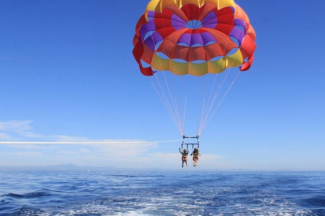 Parasailing adventure with round trip transfers included