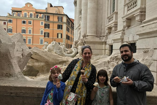Sunset tour for families with pizza and gelato