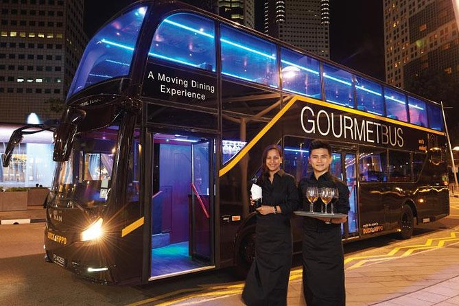 GOURMETbus Dinner Tour with Visit to Gardens by the Bay photo 1