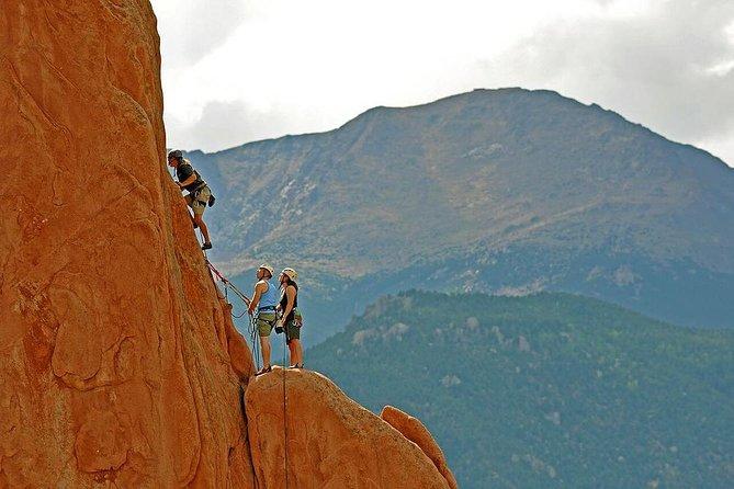 Escalada privada en roca en el Jardín de los Dioses, Colorado Springs