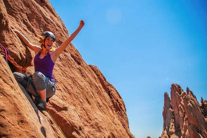 Private Rock Climbing at Garden of the Gods, Colorado Springs