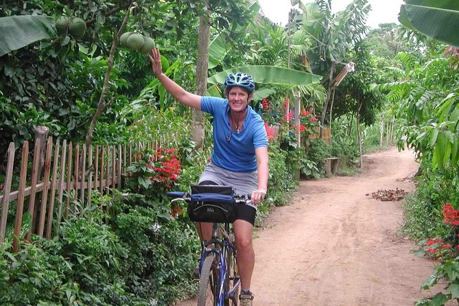 MEKONG DELTA with private MEKONG QUEEN CRUISE - CAIBE and Leisure Cycling on Tan Phong Island
