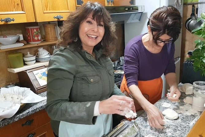 Cooking and eating with a Sardinian family