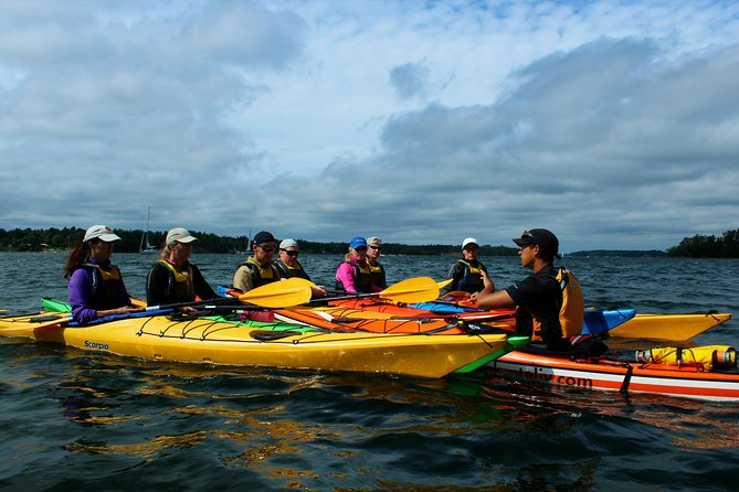Try Sea Kayaking in the Stockholm Archipelago from Graddo