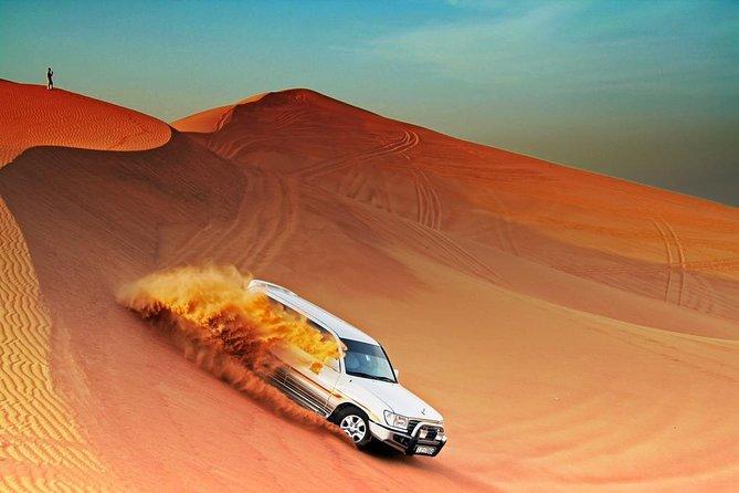 Morning Desert Safari Dubai with Camel Ride and Sandbording