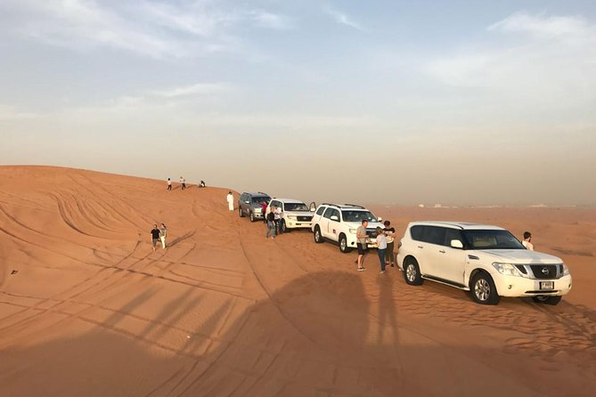Dubai TRIO: City Tour - Desert Safari with BBQ- Dhow Cruise Dinner