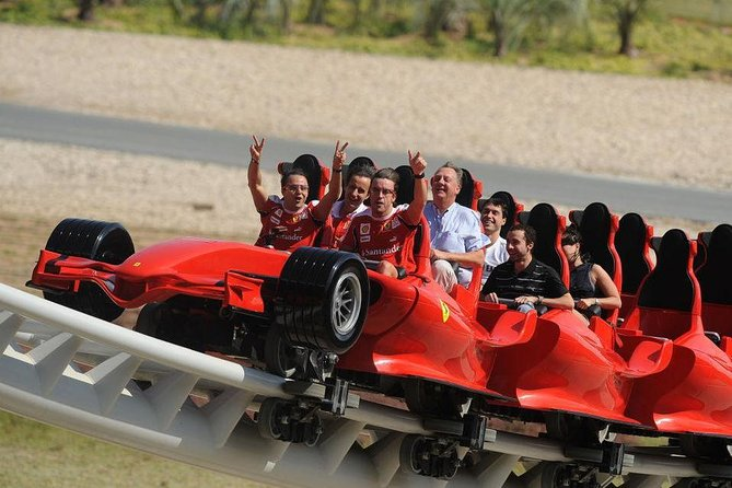Day Tour: Ferrari World Trip with transfers from Dubai