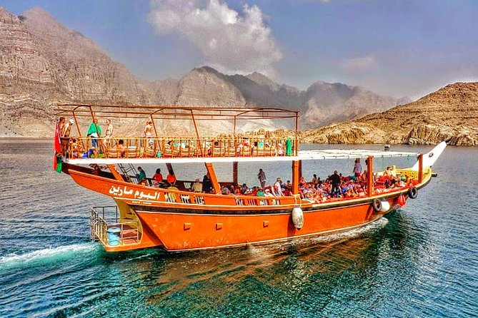 Full Day Musandam Dibba Cruise with Buffet Lunch transfers from Dubai