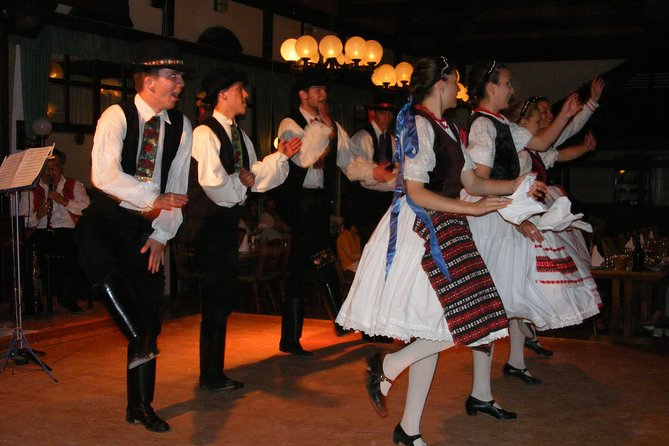 Budapest by Night Tour with Dinner and Folklore Show