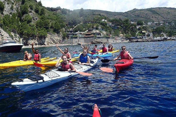 Kajakresa från marina del Cantone