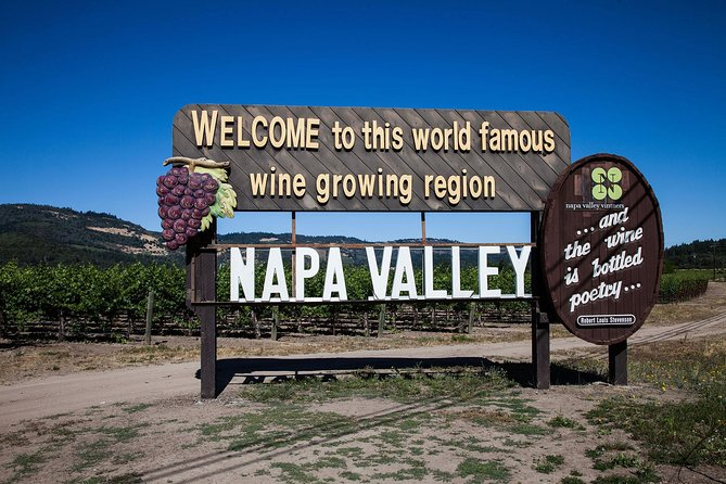 Private Limo Tour of Napa Valley or Sonoma Valley from San Francisco