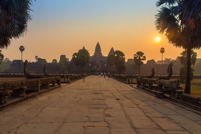 Champagne Breakfast and Sunrise over Angkor