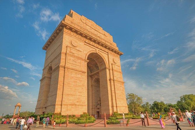 Descubra o melhor do patrimônio cultural de Délhi em um dia, incluindo degustação de alimentos