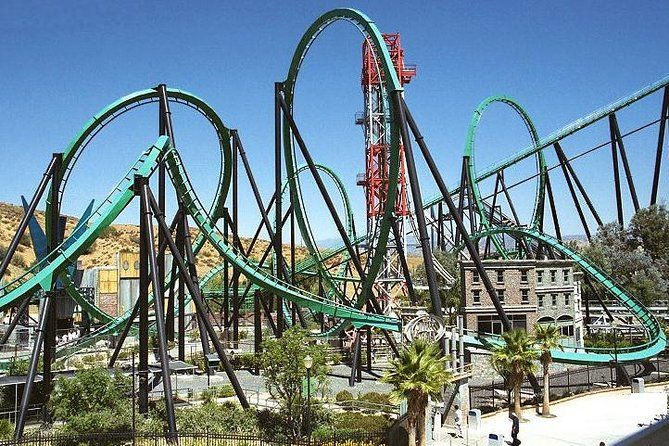 Six Flags Magic Mountain from Anaheim with Admission