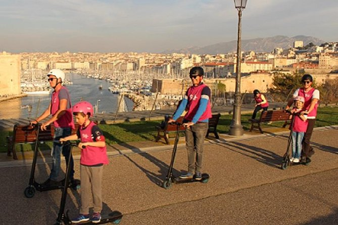 Marseille City Center E-Scooter Full Guided Tour