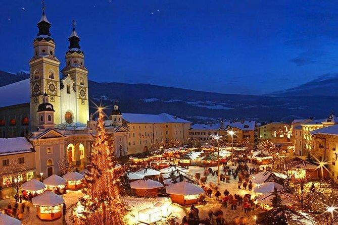 Tour privato in Auto: Mercatino di Natale a Bressanone, Centro Storico e Abbazia di Novacella