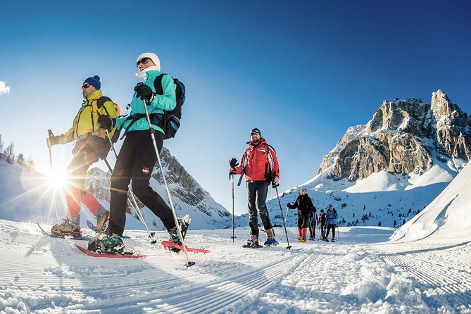 From Bolzano - Private Winter Experience: Snowshoeing in the Dolomites