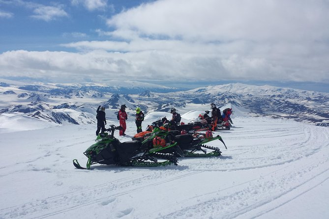 Highland Snowmobiling Tour in Southern Iceland