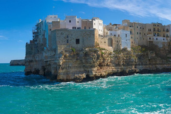 From Lecce: Ostuni, Alberobello and Polignano a Mare Independent Tour