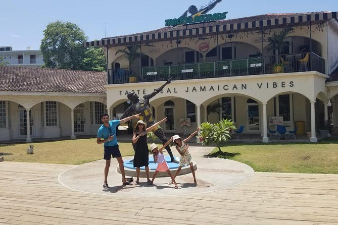Private Van Montego Bay Sightseeing and Shopping tour from Montego Bay Hotels