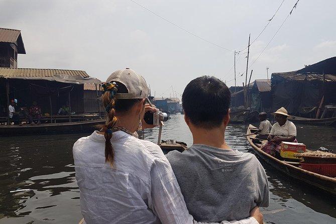 Tourist in Makoko*