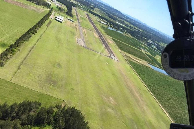12-Minute Small-Group Hunter Valley Scenic Helicopter Flight