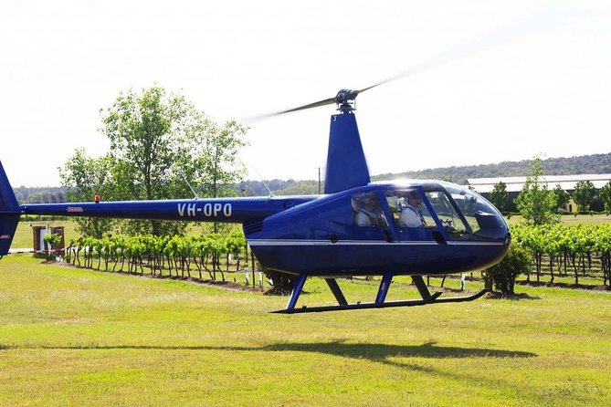 Hunter Valley Helicopter Tour with a Bubbly Breakfast image
