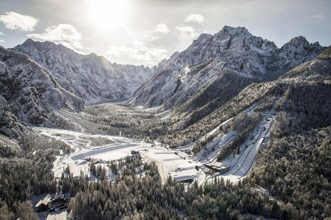 Planica and Kranjska Gora from Bled