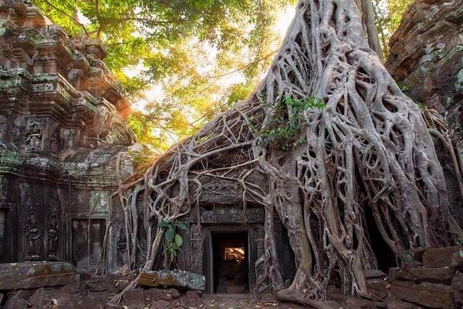 Tour of Banteay Kdei og Ta Prohm Inkludert Khmer Massasje og Kulturmiddagshow