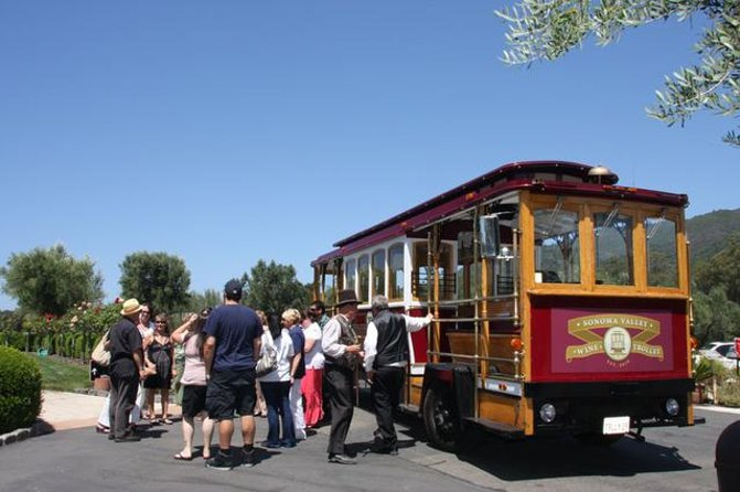 Sonoma Wine Country Trolley Tour