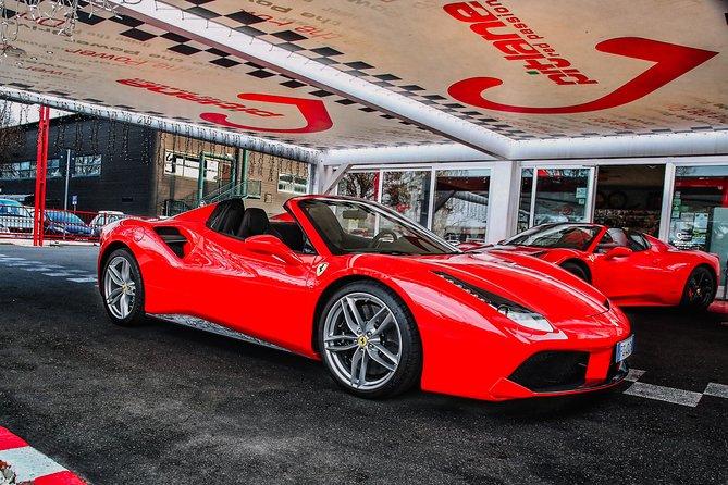 Recorrido por carretera en Ferrari 488 Spider