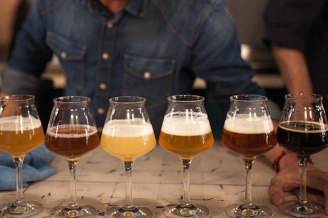 Tour storico della birra artigianale di Parigi con degustazione