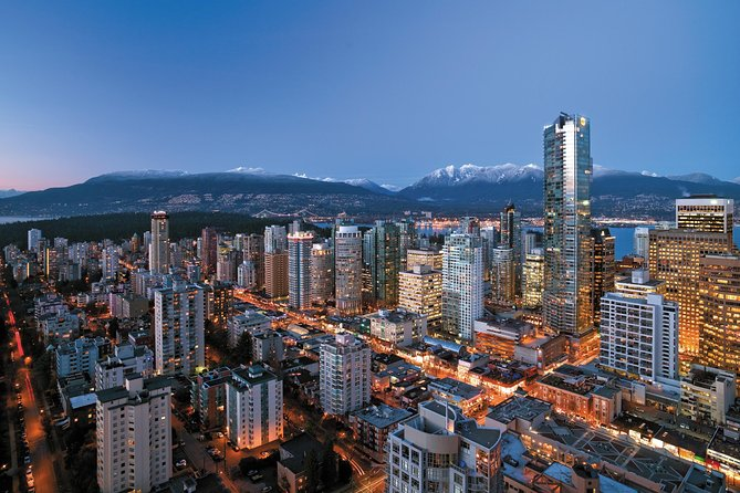 Coach Transfer from Downtown Victoria to Downtown Vancouver Hotels