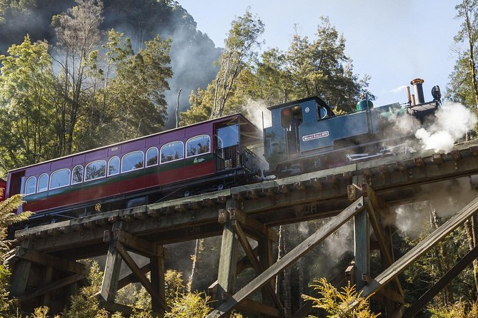 West Coast Wilderness Railway: Queenstown Explorer from Strahan photo 1