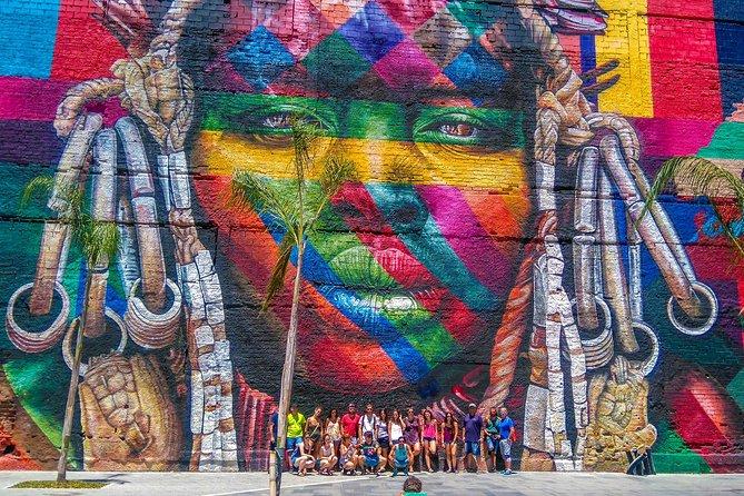 Along the Olympic Boulevard in Rio de Janeiro