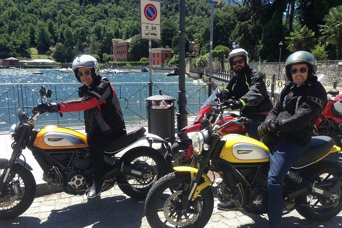 Comomeer Motorrijwiel - Motortocht rond het Comomeer en de Alpen