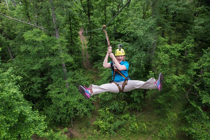 Zipline Forest at Fontanel (just 15 minutes from downtown Nashville)