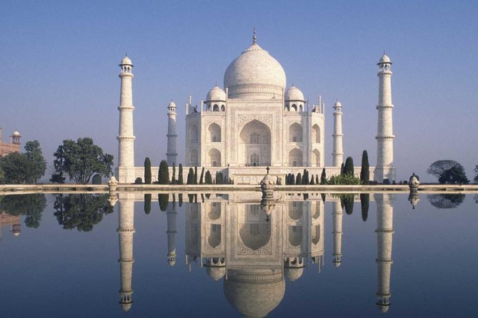 Delhi Agra & Taj Mahal Private Day Trip by High speed Express Train with Lunch
