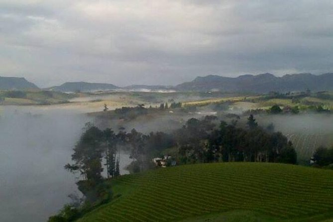 The mist in valley