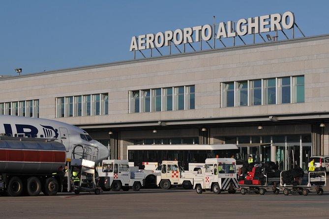 Private Arrival Transfer from Alghero Fertilia Airport to Alghero