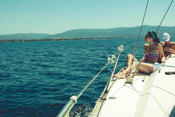 Alquiler de veleros de medio día con Skipper de Cagliari, Capitana, Villasimius o Pula