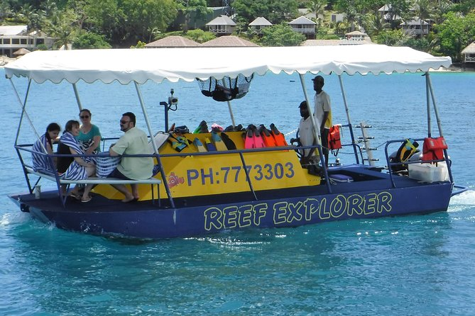 1.5-hour Glass Bottom Semi-Sub Port Vila Snorkel Tour
